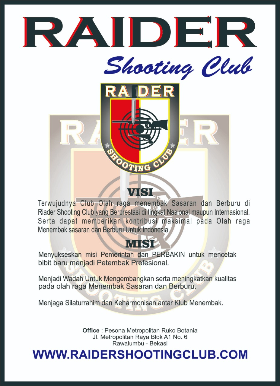 Visi Misi Raider Shooting Club
